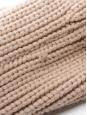 Veste blouson en laine rose et maille beige Prix boutique 1990€ Taille 38