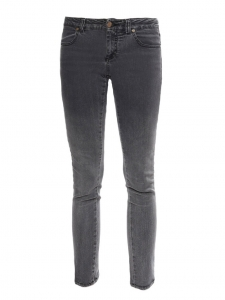 Grey cotton slim fit denim pants Retail price €225 Size XS