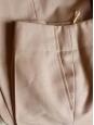 Pantalon droit en laine beige camel Px boutique 650€ NEUF Taille 36