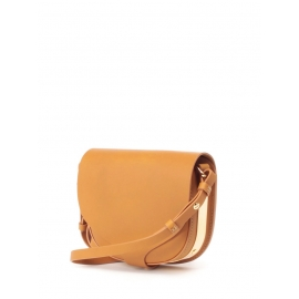 Barnsbury medium tan brown leather cross body bag Retail price €695
