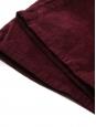 Jean Marrakesh taille haute slim fit flared en velours rouge bordeaux Prix boutique 240€ Taille 25 (XS)