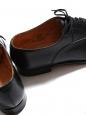 Derby richelieu MITCHAM à lacets en cuir noir Prix boutique 515€ Taille UK 9,5 / FR 44