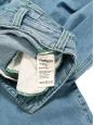 Edie Archivio Light blue stretch-cotton denim high waist flared jeans Retail price $250 Size 25 (XS)