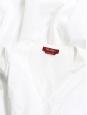 MAX MARA White cotton V neck sleeveless maxi dress Size 42