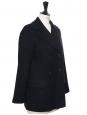 A.P.C PARIS Manteau caban court en laine bleu marine Prix boutique 450€ Taille 38