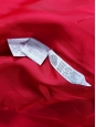 Manteau oversized mi-long en laine rouge vif Prix boutique 1000€ Taille 40 à 42