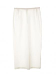 Jupe midi taille haute droite blanche Prix boutique 400€ Taille 34