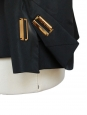 YVES SAINT LAURENT Veste blazer de smoking en soie noire Taille 38