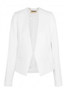 Veste blazer courte en crêpe blanc Prix boutique 235€ Taille 36