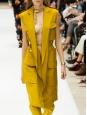 RIMINI mustard yellow maxi dress /jacket Retail price $456 Size 36 to 38