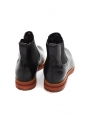Alessio Black Scorpion Chelsea boots with Fur Lining Retail price $2150 Size 7.5