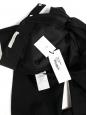 Black wool slim fit Romantic H13 men's pants Retail price €195 Size 38