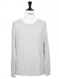 Pull sweat Homme en coton gris clair Prix boutique 230€ Taille M