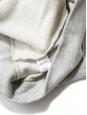 Sweatshirt en coton gris chiné clair Px boutique 230€ Taille 38
