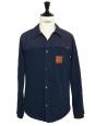 Veste blouson HUDSON imperméable bleu marine Prix boutique $168 Taille S