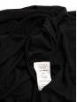 Jupe longue taille haute plissée noire Px boutique 1500€ Taille 40