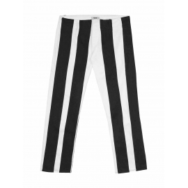 Black and white striped jeans Retail price 240€ Size 38