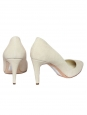 Nada off white suede leather pointed toe pumps NEW Retail price €425 Size 37