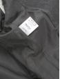 Manteau veste BRYCE en laine et cachemire gris anthracite Prix boutique 1340€ Taille 38/40
