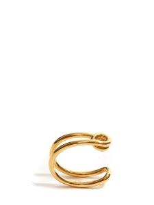 Bracelet manchette Cate en laiton doré Prix boutique 320€