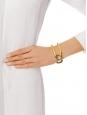 Cate gold brass cuff bracelet Retail price €320