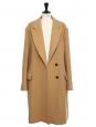 Manteau oversized long en laine mélangée camel Prix boutique 2095€ Taille 42