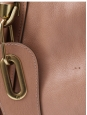 Paraty handbag in pink beige leather FW 2011 collection Retail $1895