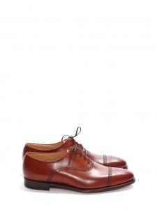 Derby richelieu MALTON à lacets en cuir marron Prix boutique 525€ Taille UK 7,5 / FR 41
