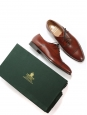 HATTON Brown Bracken Burnished calf leather Oxford shoes Retail price €525 Size UK 7.5 / FR 14