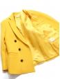 Veste blazer double boutonnière jaune vif Prix boutique 630€ Taille 36/38