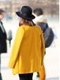 Chapeau borsalino PREMIUM TRILBY en feutre de laine noir Prix boutique $120 Taille 55
