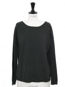 CLOSED Pull en laine et cachemire vert khaki Prix boutique 295€ Taille 36