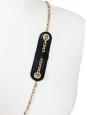 Mini sac à bandoulière Lily en cuir noir et noeud brodé de cristaux swarovski Px boutique 550€