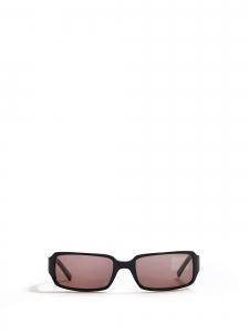 Lunettes de soleil noires rectangulaires fines Prix boutique 300€