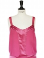 STELLA MCCARTNEY Raspberry pink silk strap dress Size 38