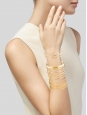 Long gold-tone cuff bracelet Retail price €325