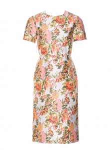 Ridley neon floral print jacquard dress Retail price 775€ Size 38