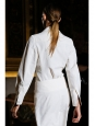 Vanilla LIONEL slub twill wide-leg pants Retail price €550 Size 36