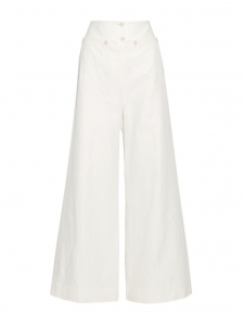 Vanilla LIONEL slub twill wide-leg pants Retail price €550 Size 36