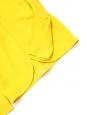 Blouse manches longues col rond en crêpe jaune soleil NEUVE Px boutique 480€ Taille 36