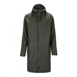 Manteau imperméable long vert kaki Prix boutique 95€ Taille L/XL