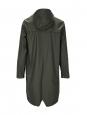 RAINS Manteau imperméable long vert kaki Prix boutique 95€ Taille S