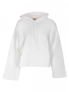 Pull sweat à capuche blanc Joghy emboss Prix boutique 260€ Taille M
