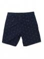 Short Homme en coton bleu marine imprimé ancres Taille 30