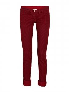 Jean en coton rayé rouge et noir Px boutique environ 200€ Taille 40