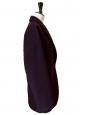 Manteau MM6 en laine mélangée bordeaux prune Prix boutique 690€ Taille 36 à 38