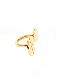 Golden brass DARCEY ring Retail price €250 Size 54