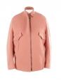 Veste blouson en laine mélangée rose Prix boutique 1750€ Taille 36