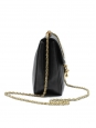 Small black leather ELSIE cross body bag NEW Retail price €1000