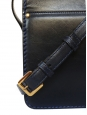Navy blue leather cross body LOUISE bag Retail price €1450